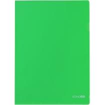Папка-куточок A4 Economix, зелена