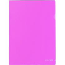 Папка-куточок A4 Economix, розова