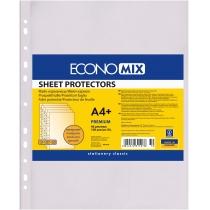 Файл для документів А4+ Economix, 40 мкм, фактура