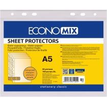 Файл для документів А5 Economix, 40 мкм, фактура