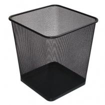 Кошик 10 л прямокутний металевий чорний