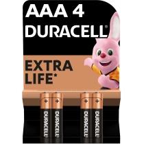 Батарейка DURACELL ААА MN2400 4шт. в упаковці
