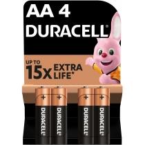Батарейка DURACELL AA MN1500  4шт. в упаковці