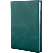 Щоденник датований 2020, MARBLE, зелений, А5