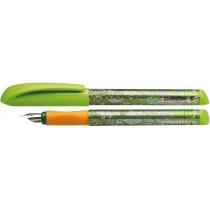 Ручка перова (без картриджа) SCHNEIDER FIESTA, зелена