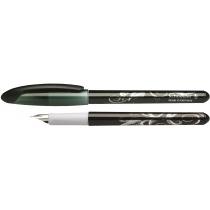 Ручка перова (без картриджа) SCHNEIDER VOYAGE, чорна