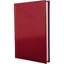 Щоденник датований 2020, FLASH, червоний, А5