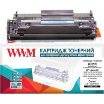 Картридж тонерний WWM для HP LJ 1010/1020/1022 аналог Q2612A