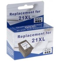 Картридж струменевий MicroJet для HP Officejet 500/3920/PSC1410 аналог №21XL Black ( HC-E01X) підвищ