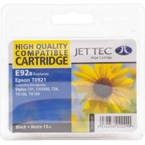 Картридж струменевий JetTec для Epson Stylus C91/T26/TX119 аналог C13T10814A10/C13T09214A10 Black (1