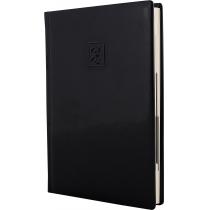 Щоденник датований 2020, GLOSS, чорний, А5, кремовий блок