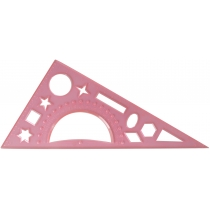 Трикутник, 20 см, (транспортир і геометричні фігури)