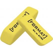Гумка для олівця 40*12*10 мм, жовта