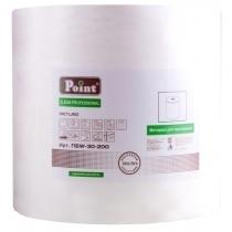 Протиральний нетканний матеріал Eco Point Wetlight, в рулоні 200 м, промисловий, білий