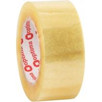 Стрічка клейка пакувальна (скотч) Optima Extra, прозора, 48мм*140м