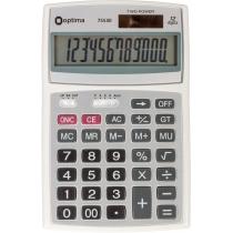 Калькулятор настільний Optima 12 розрядів, розмір 143*94*29 мм