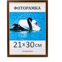 Фоторамка А4, 21*30, 1511-33, коричнева