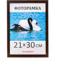 Фоторамка А4, 21*30, 1611-33, коричнева