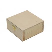 Скринька дерев'яна з замком, 15х8х15см, ROSA TALENT