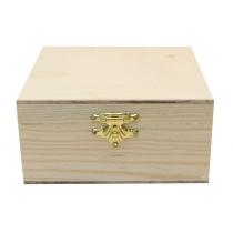 Скринька дерев'яна з замком, 21х7х7см, ROSA TALENT