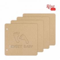 Заготовка для альбому «Sweet baby», 20*20,5см, 4 ст., ROSA TALENT