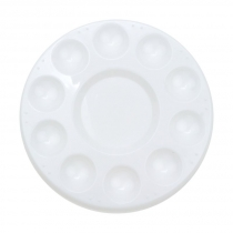 Палітра пластикова кругла (d:17,8см.) (18408),  D.K.ART & CRAFT
