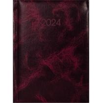 Щоденник датований, PRIME, бордо, А5