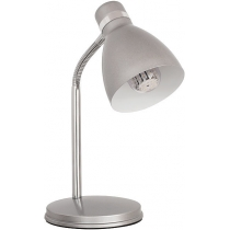 Лампа настільна Kanlux ZARA HR-40-SR  40 Вт E14 срібна