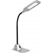 Лампа настільна світлодіодна DELUX TF-450 5 Вт LED срібло