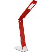 Лампа настільна світлодіодна DELUX TF-310 5 Вт LED червона