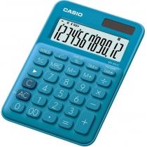 Калькулятор настільний Casio, 12 розрядів, блакитний, розмір 149.5*105*22.8 мм