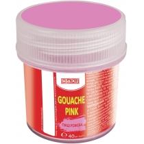 Гуаш кольорова, 40 мл, рожева
