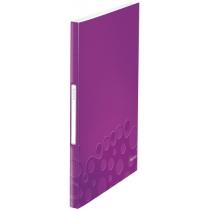 Папка з файлами Leitz WOW  40 файлів колір фіолетовий