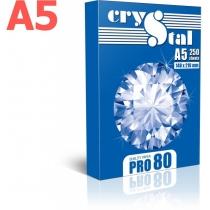 Папір CRYSTAL PRO 80 А5 80г/м2 , 250 арк