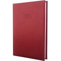 Щоденник датований, SAHARA, темно-червоний, А5