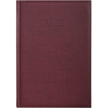 Щоденник датований 2021, BASIC, бордо, А5
