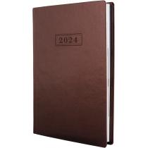 Щоденник датований 2020, NEBRASKA , коричневий металік, А5