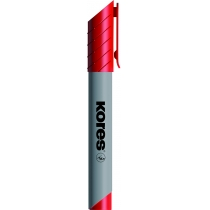 Маркер для фліпчартів KORES XF2 2-3 мм, червоний