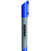 Маркер для фліпчартів KORES XF2 2-3 мм, синій