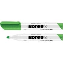Маркер для білих дошок KORES 2-3 мм, світло-зелений