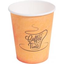 Стакан паперовий Coffee Time 250 мл 50 шт