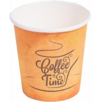 Стакан паперовий 175 мл Coffee Time 50 шт / упаковка