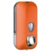 Дозатор мила -піни під картридж COLORED 0,55 л пластик помаранчевий