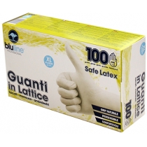 Рукавички латексні SAFE LATEX розмір XL 100 шт в коробці