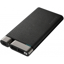 УМБ Puridea X01 10000 mAh Li-Pol +TYPE-C Leather Black