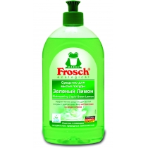 Засіб для миття посуду Frosch 500 мл зелений лимон