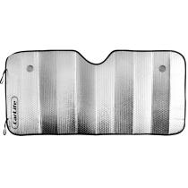 Шторка сонцезахисна CarLife, лобова 145х70 см., срібна