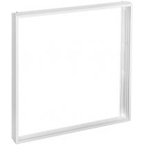Рамка накладного монтажу для DELUX LED панелей біла