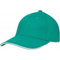 Кепка 6-и панельна OPTIMA PROMO GOLF, зелена