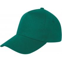 Кепка 5-и панельна OPTIMA PROMO POLO, зелена